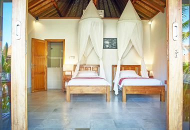 THREE MONKEY VILLAS TWIN BEDROOMS THREE MONKEY VILLAS ULUWATU SURF ACCOMMODATION