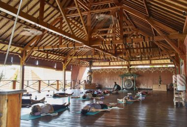 Yoga Near Three Monkeys Villas