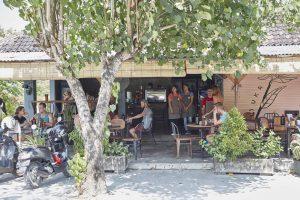 cafe scene uluwatu three monkeys villas